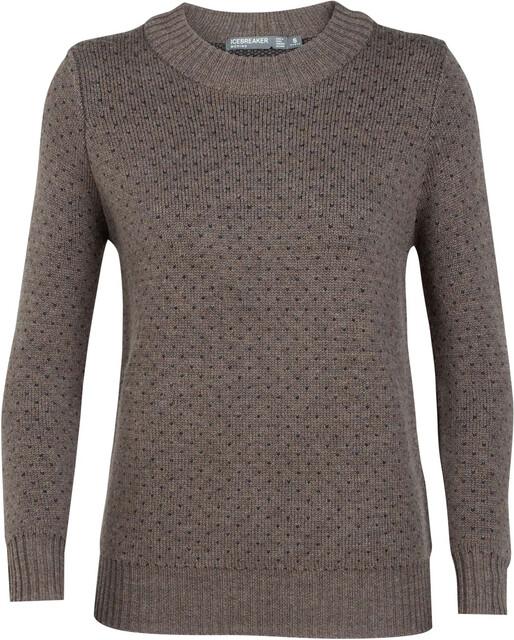 icebreaker damen muster sweatshirt
